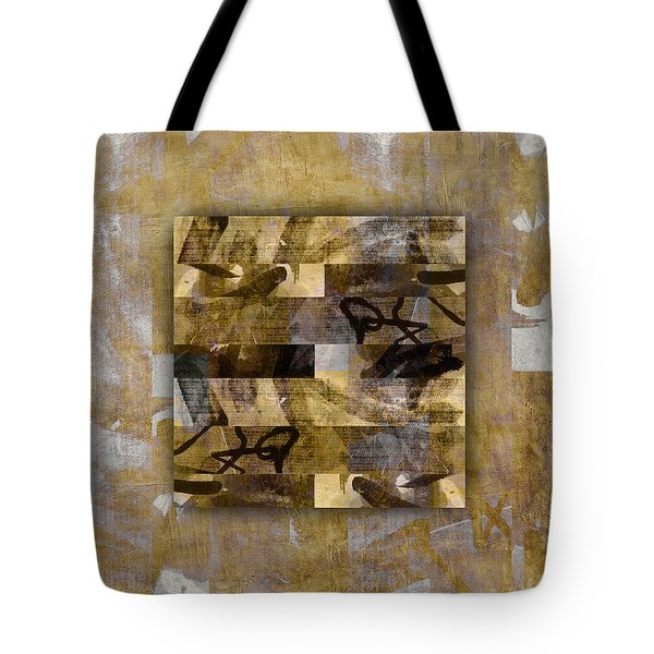 Tropical Panel Number Four Tote Bag