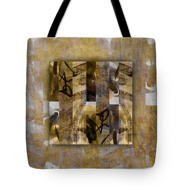 Tropical Panel Number One Tote Bag