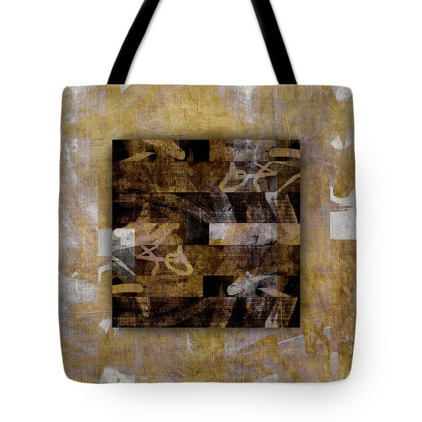 Tropical Panel Number Three Tote Bag
