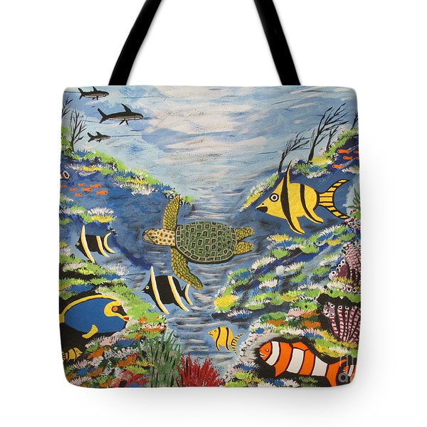Tropical Paradise Tote Bag by Jeffrey Koss