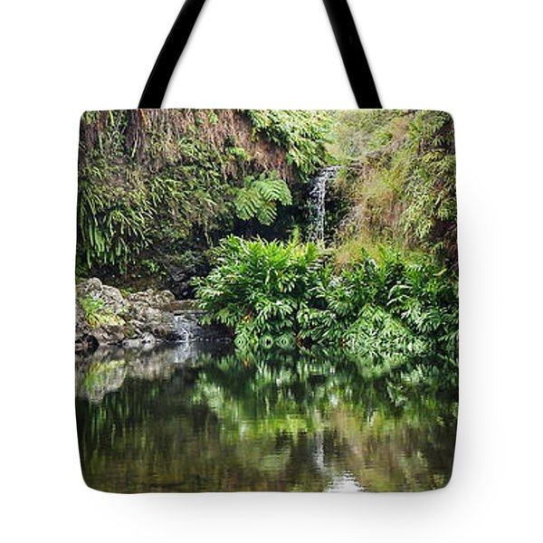 Tropical Reflections Tote Bag
