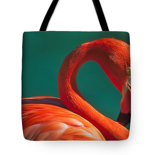 Tropical Rose Tote Bag