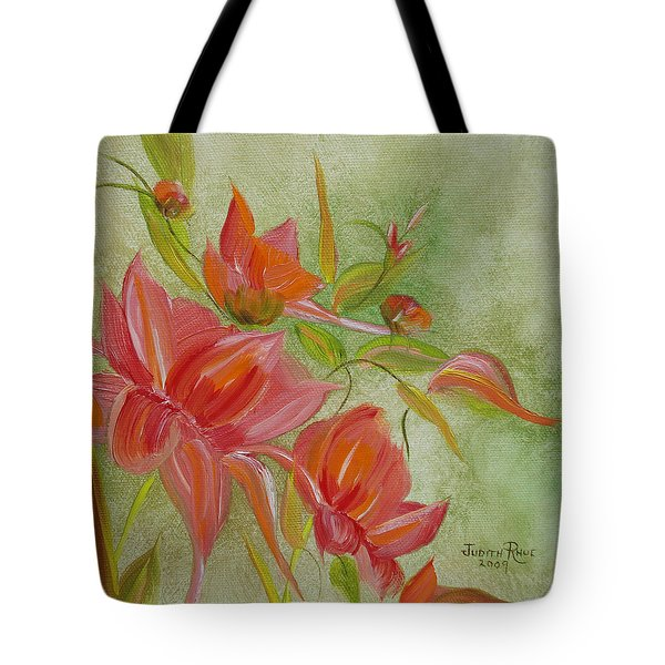 Tropical Splash Tote Bag