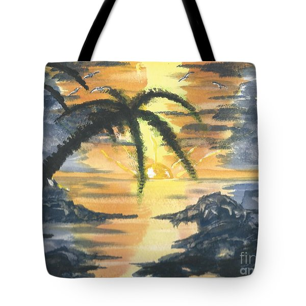 Tropical Sun Tote Bag