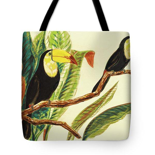 Tropical Toucans II Tote Bag