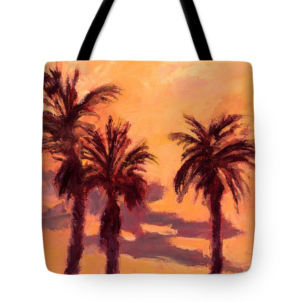 Tropical Trees Tote Bag