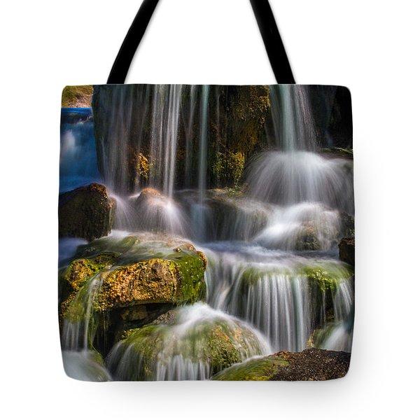 Tropical Waterfall Tote Bag
