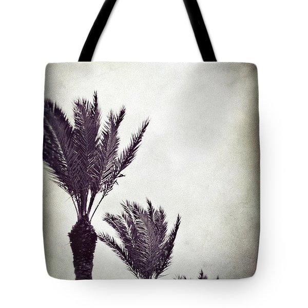 Trouble In Paradise Tote Bag by Trish Mistric
