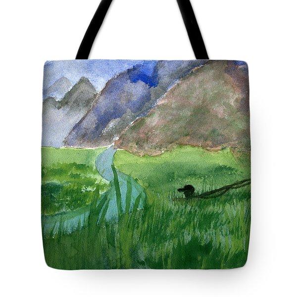 Trout Bum Tote Bag