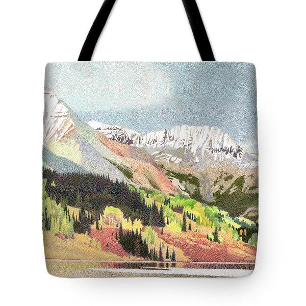 Trout Lake Colorado Tote Bag