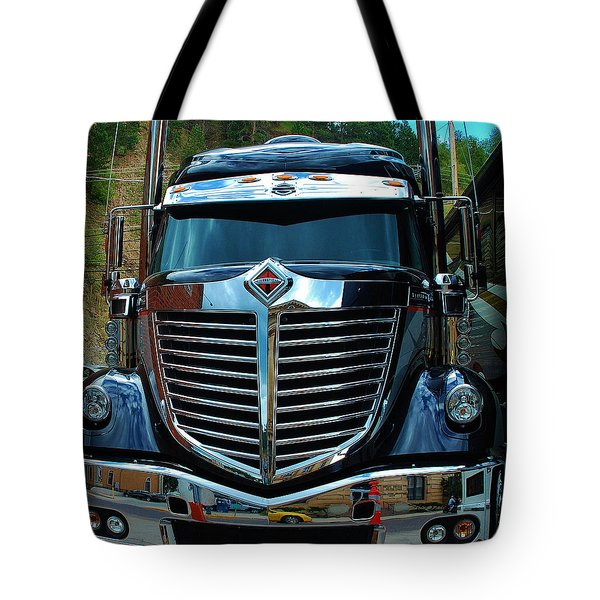 Truck Face Tote Bag