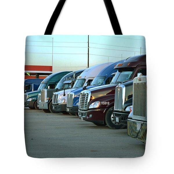 Truck Stop Tote Bag