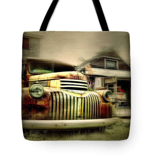 Truckyard Tote Bag by Diana Angstadt