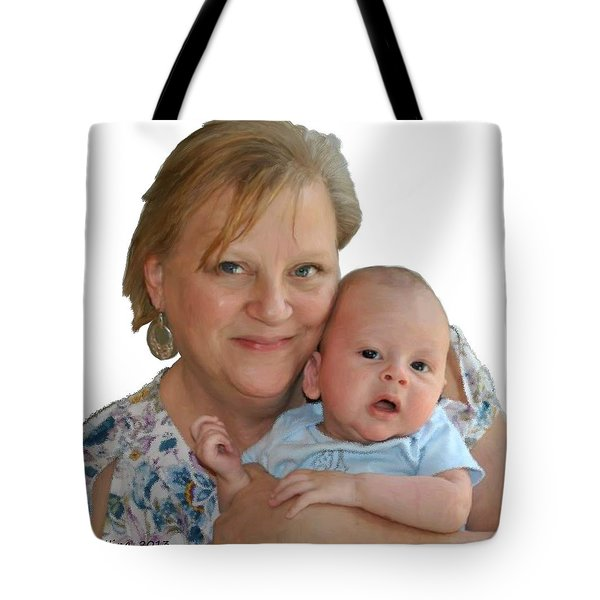 Trudy And Zachary Tote Bag by Bruce Nutting