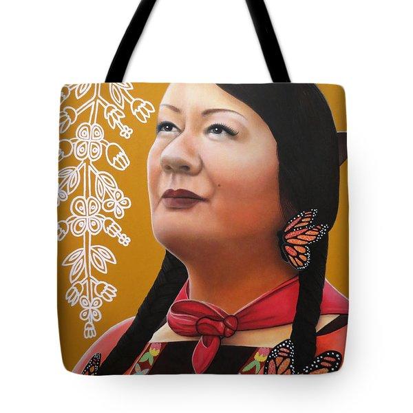 True Beauty - Jenny Blackbird Tote Bag
