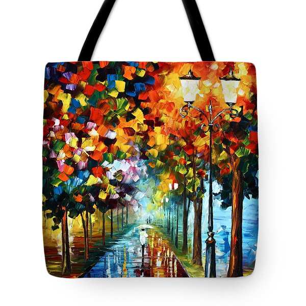 True Colors Tote Bag by Leonid Afremov