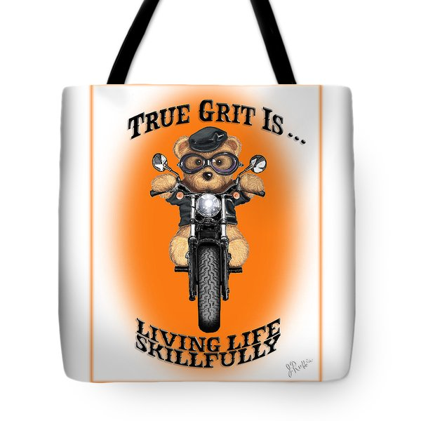 True Grit Tote Bag by Jerry Ruffin