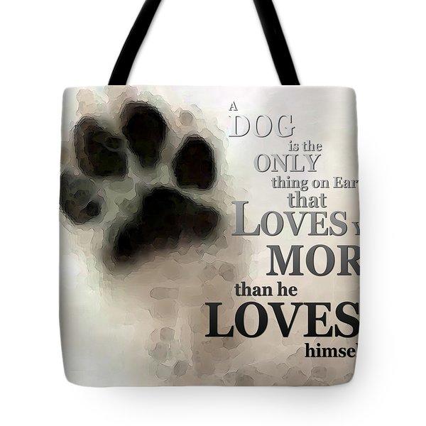 True Love - By Sharon Cummings Words By Billings Tote Bag