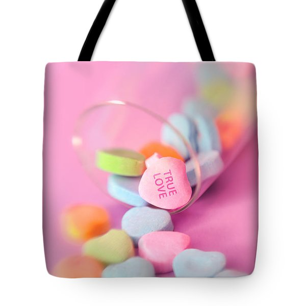 True Love Tote Bag by Marianne Campolongo