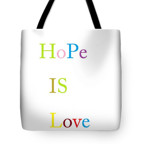Tote Bag featuring the painting True Meaning by Aaron Martens
