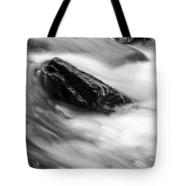True's Brook Gorge Water Fall Tote Bag by Edward Fielding