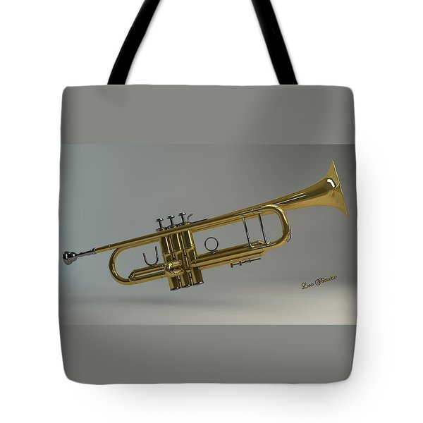 Trumpet Tote Bag by Louis Ferreira