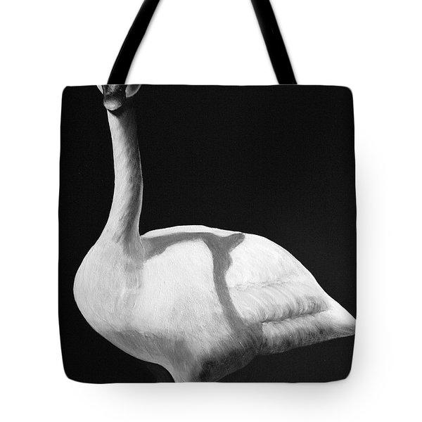 Trumpeter Swan Tote Bag