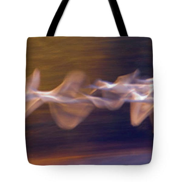 Trumpeter Swans Cygnus Buccinator Tote Bag