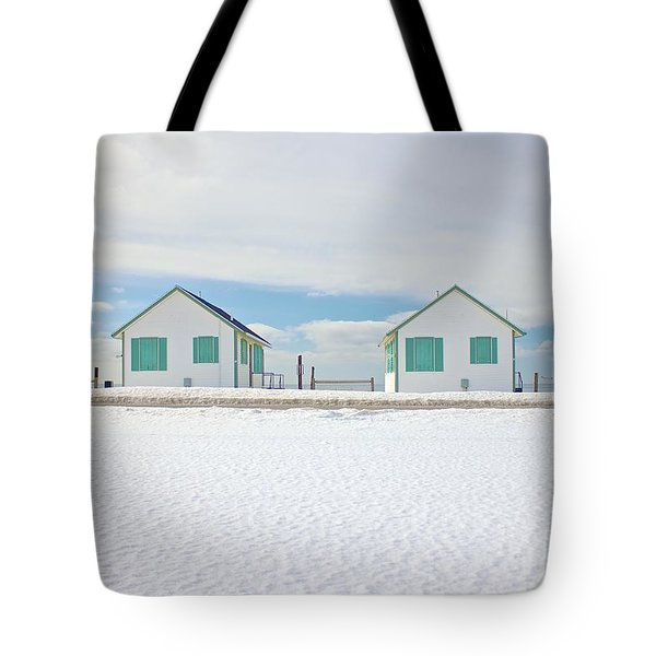 Tote Bag featuring the photograph Truro Cottages by Amazing Jules
