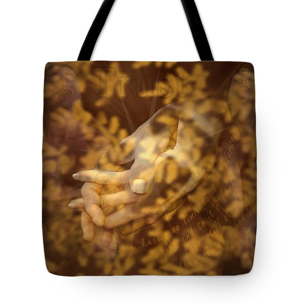 Trust Tote Bag by Kurt Van Wagner