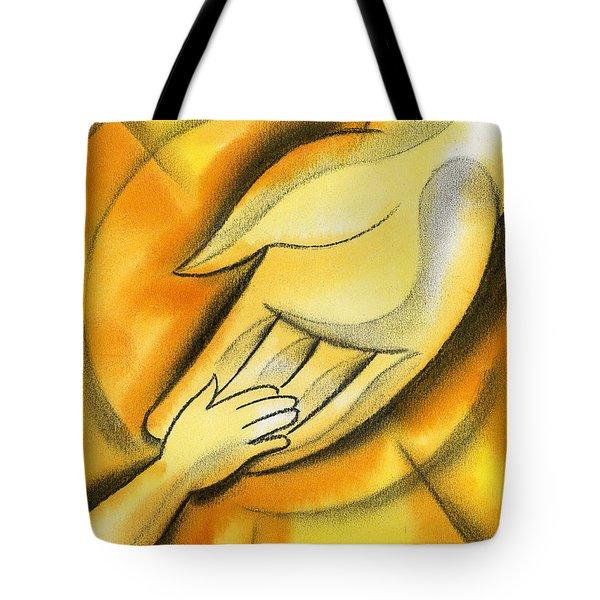 Trust Tote Bag by Leon Zernitsky