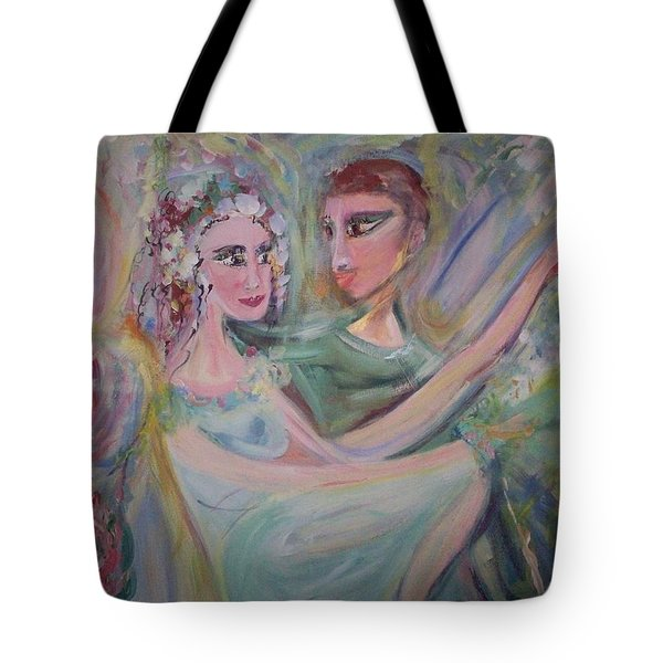 Trust Me On This Tote Bag by Judith Desrosiers