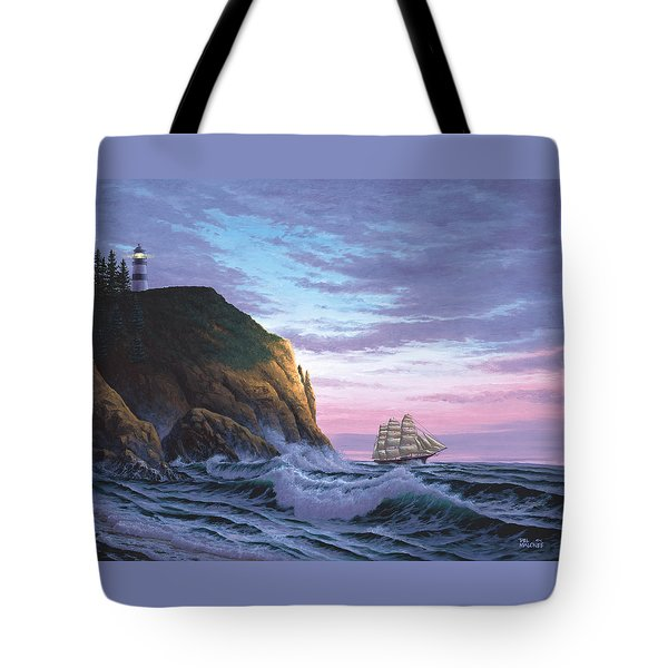 Trusting The Light Tote Bag