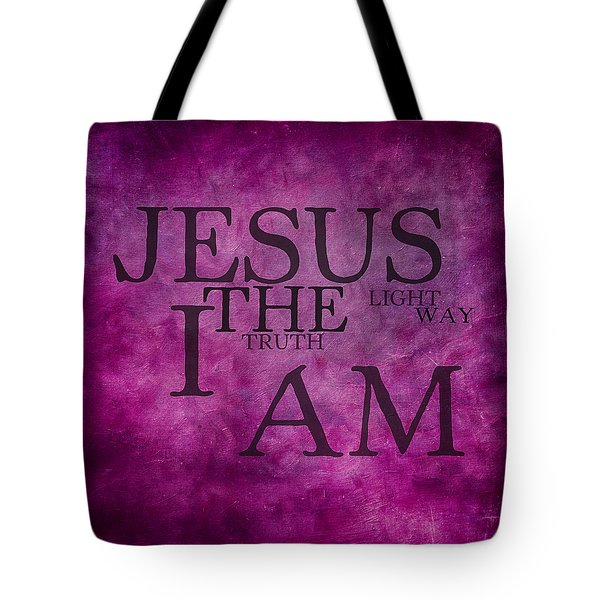 Truth Light Way 2 Tote Bag by Angelina Vick