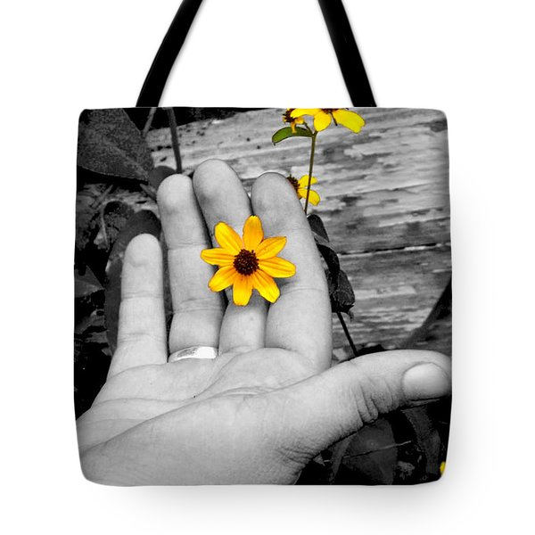 Try Seeing It In Color Tote Bag
