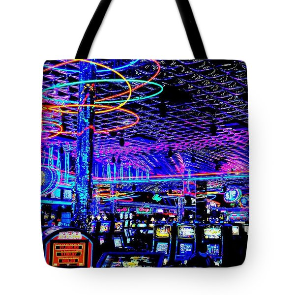 Try Your Luck Tote Bag by Benjamin Yeager