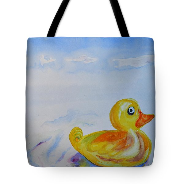 Trying Out The Big Water Tote Bag by Beverley Harper Tinsley