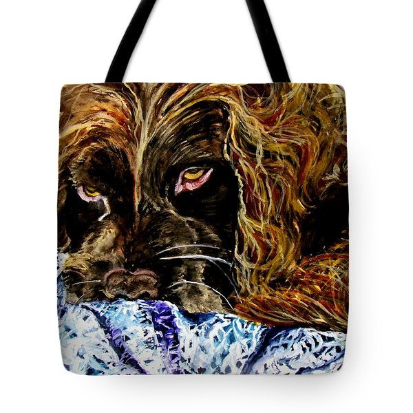 Trying To Sleep Here Tote Bag