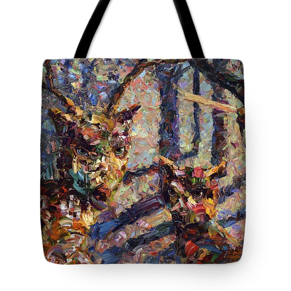 Tryst Tote Bag by James W Johnson