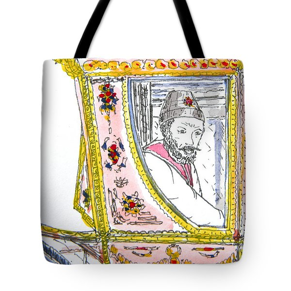 Tsar In Carriage Tote Bag