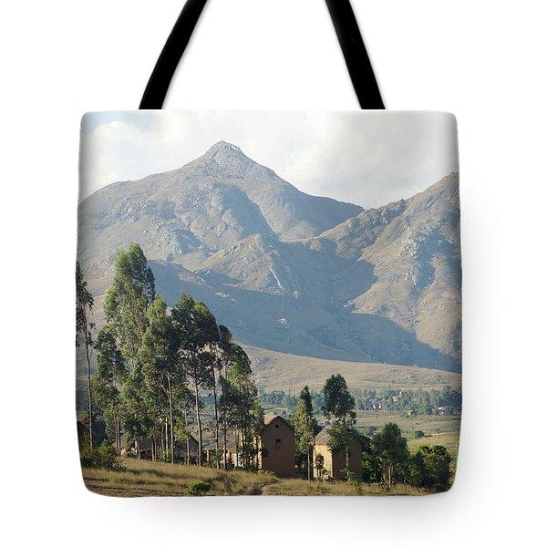 Tsaranoro Mountains Madagascar 1 Tote Bag by Rudi Prott