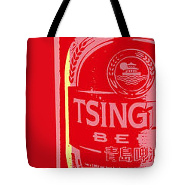 Tsingtao Beer Tote Bag by Jean luc Comperat