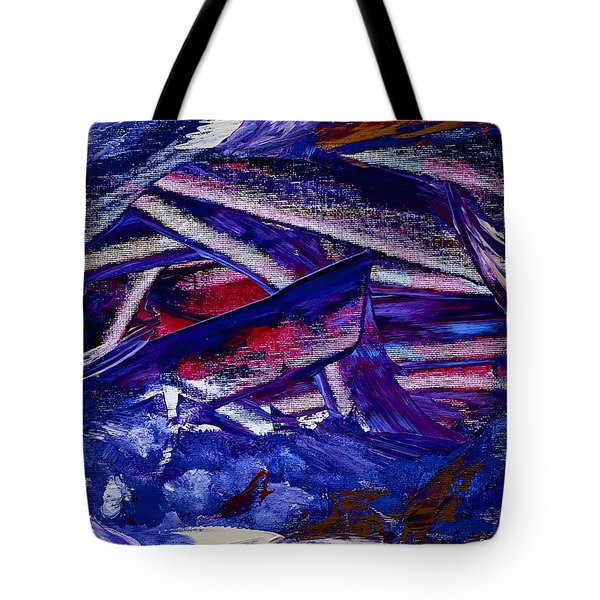 Tsunami Tote Bag by Dick Bourgault