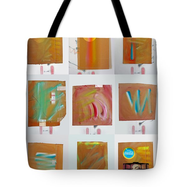 Tsunami Quilt Tote Bag by Charles Stuart