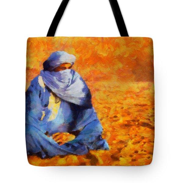 Tuareg 2 L.e. Tote Bag by George Rossidis