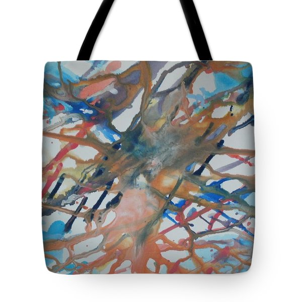 Tube Tote Bag by Thomasina Durkay