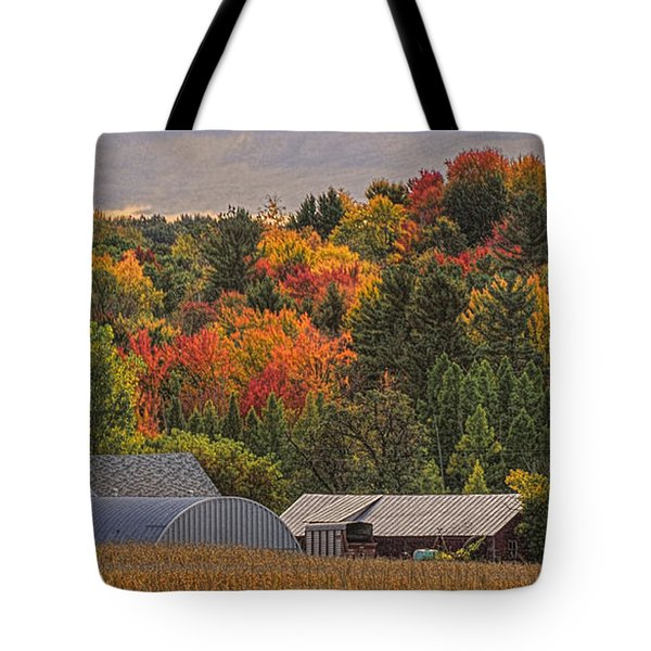 Tucked Away In Autumn Tote Bag