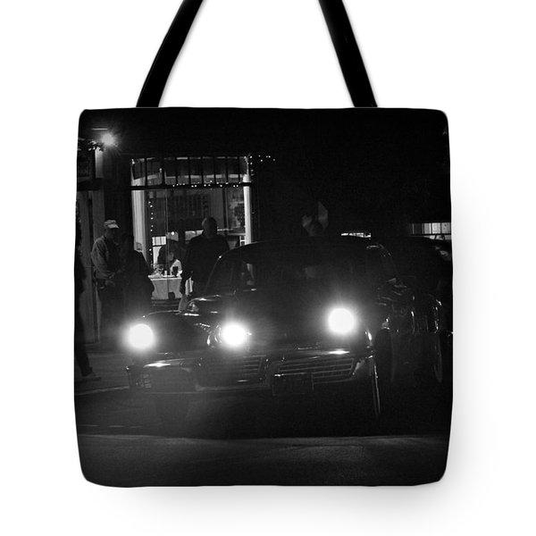 Tucker Noir Tote Bag