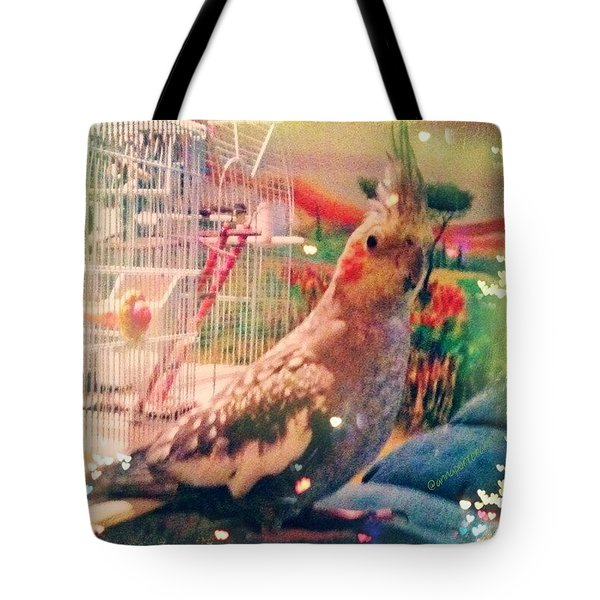 Tucker You #fillmyheartwithhappiness Tote Bag