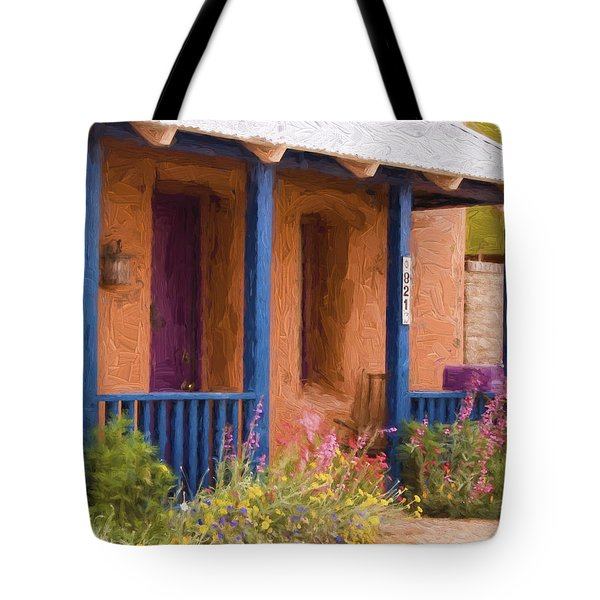 Tucson 821 Barrio Painterly Effect Tote Bag